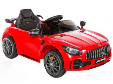 Mercedes Benz AMG GT R Official 12v Electric Kids Ride on Car Red with Remote Control